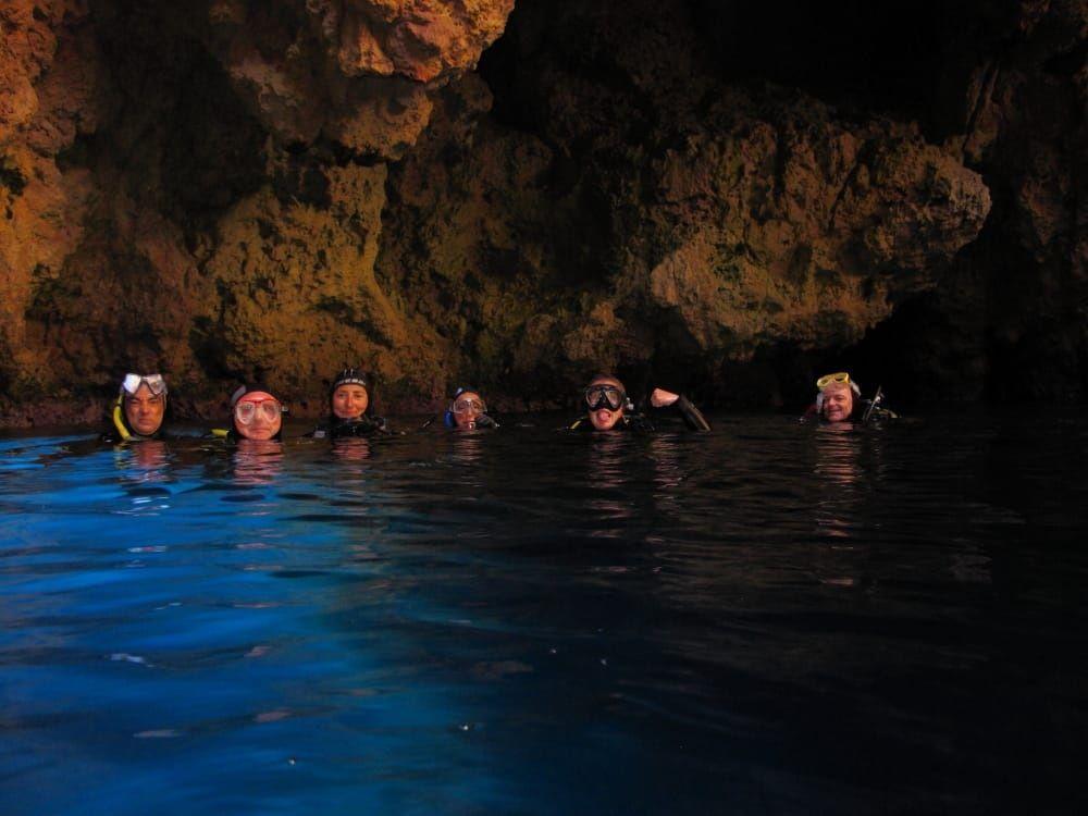 Inmersión De Belugavela Cruceros Cueva De La Luz Y Columnas De Hercules Ibiza Baleares Fecha 06 06 2018